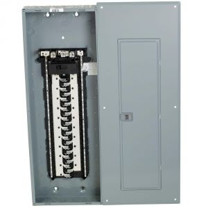 Homeline Breaker Box Wiring Diagram - Square D Homeline 200 Amp 42 Space 84 Circuit Indoor Main Breaker Inside Load Center Wiring 19a
