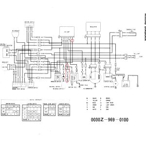 Honda    300    Fourtrax Ignition    Wiring       Diagram      Free    Wiring
