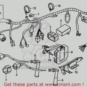 Honda Rebel 250 Wiring Diagram - Honda Rebel 250 Wiring Diagram Wonderful Honda Cmx250c Rebel 250 Wiring Diagram 1986 G Usa 18h