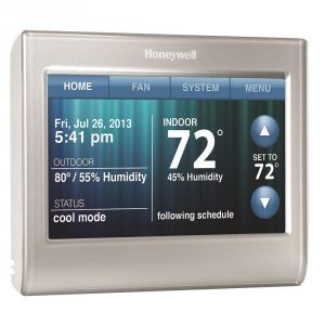 Honeywell 9000 thermostat Wiring Diagram - Guide to thermostat Wiring Color Code Making Install Simple and Fast 5e