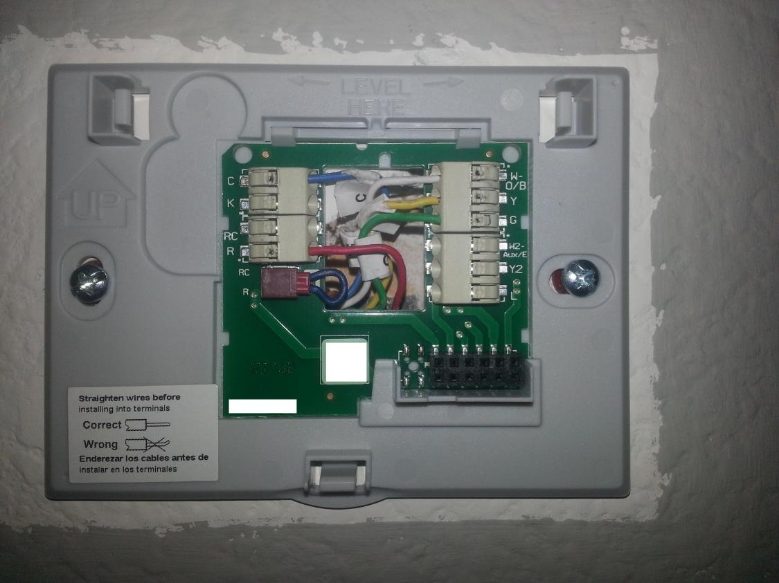 Honeywell 9000 Thermostat Wiring Diagram