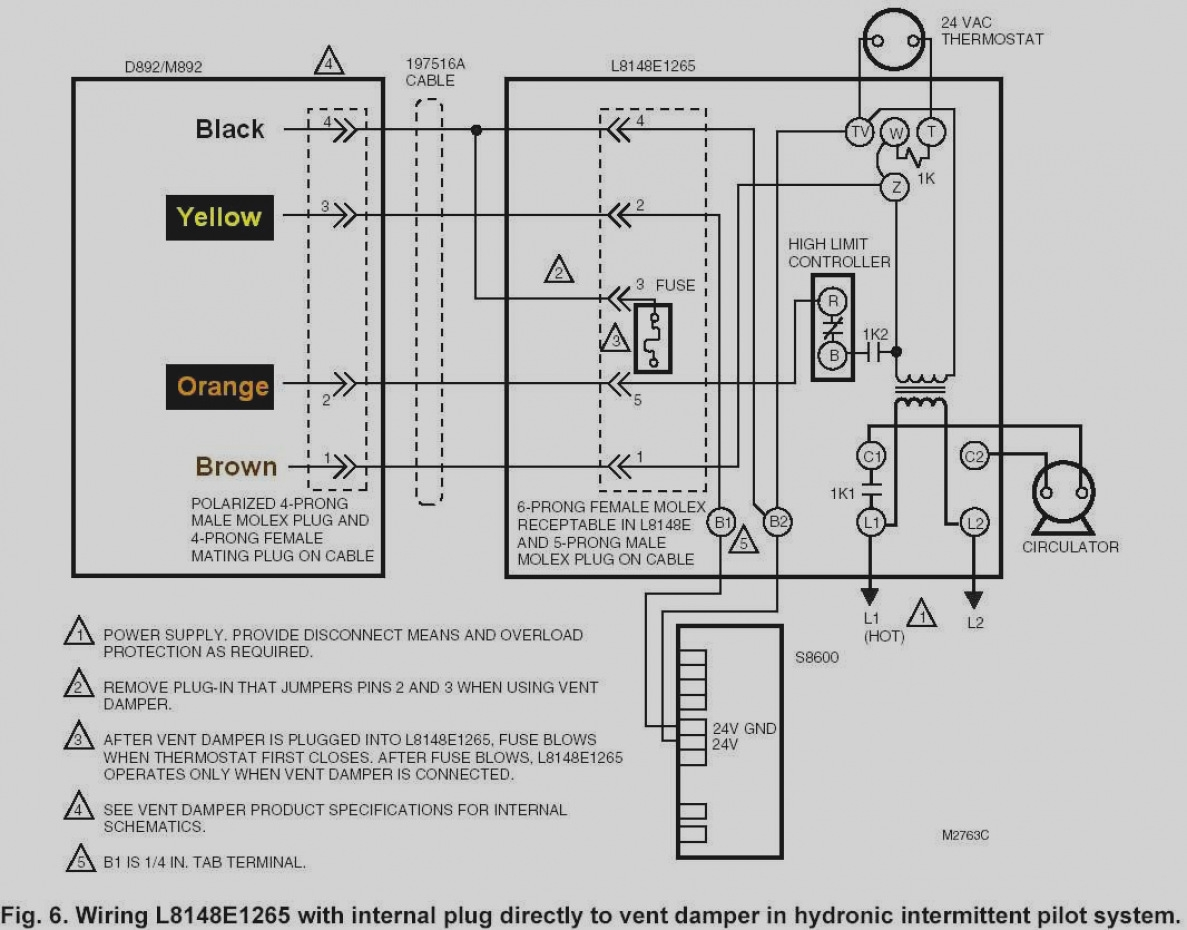 honeywell aquastat l8148e wiring diagram Collection-Enchanting Honeywell Rth3100c1002 Wiring Diagram for Vignette Honeywell L8148a Wiring Diagram 19-k