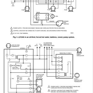 Honeywell Aquastat L8148e Wiring Diagram - Honeywell L8124a Wiring Diagram Collection Aquastating Diagram Honeywell L8124a thermostat Relay L8148e L4006a Aquastat Wiring 17s