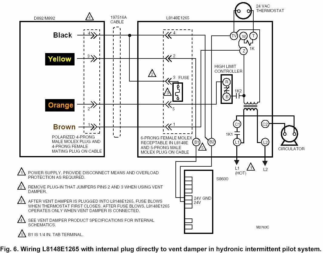 aquastat wiring diagram repair manual Wiring Diagrams L4006A Aquastat