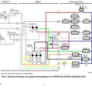 Honeywell Chronotherm Iv Plus Wiring Diagram - Honeywell Chronotherm Iv Plus Wiring Diagram Honeywell thermostat for Heat Pump Wiring Diagram at Intertherm 14b