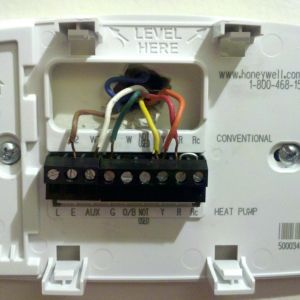Honeywell Heat Pump thermostat Wiring Diagram - 7 Wire thermostat Wiring Diagram Elegant 14l