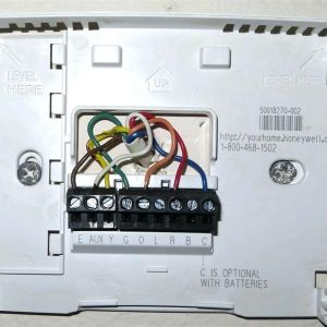 Honeywell Heat Pump thermostat Wiring Diagram - Honeywell thermostat Wiring Diagram Th4110d1007 with Heat Pump and 20a