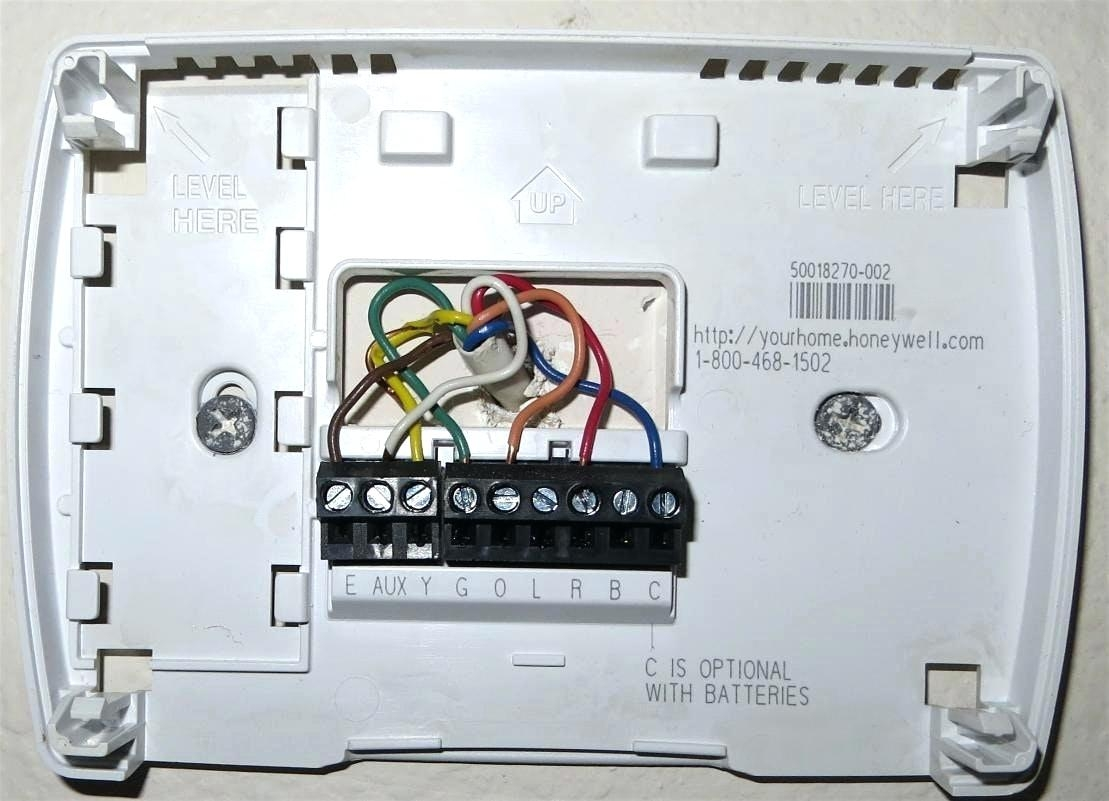Honeywell Heat Pump Thermostat Wiring Diagram