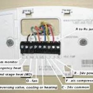 Honeywell Heat Pump thermostat Wiring Diagram - Honeywell thermostat Wiring Diagram Unique for Amusing Free Save Pic Rh Acousticguitarguide org Honeywell Pro 3000 3s