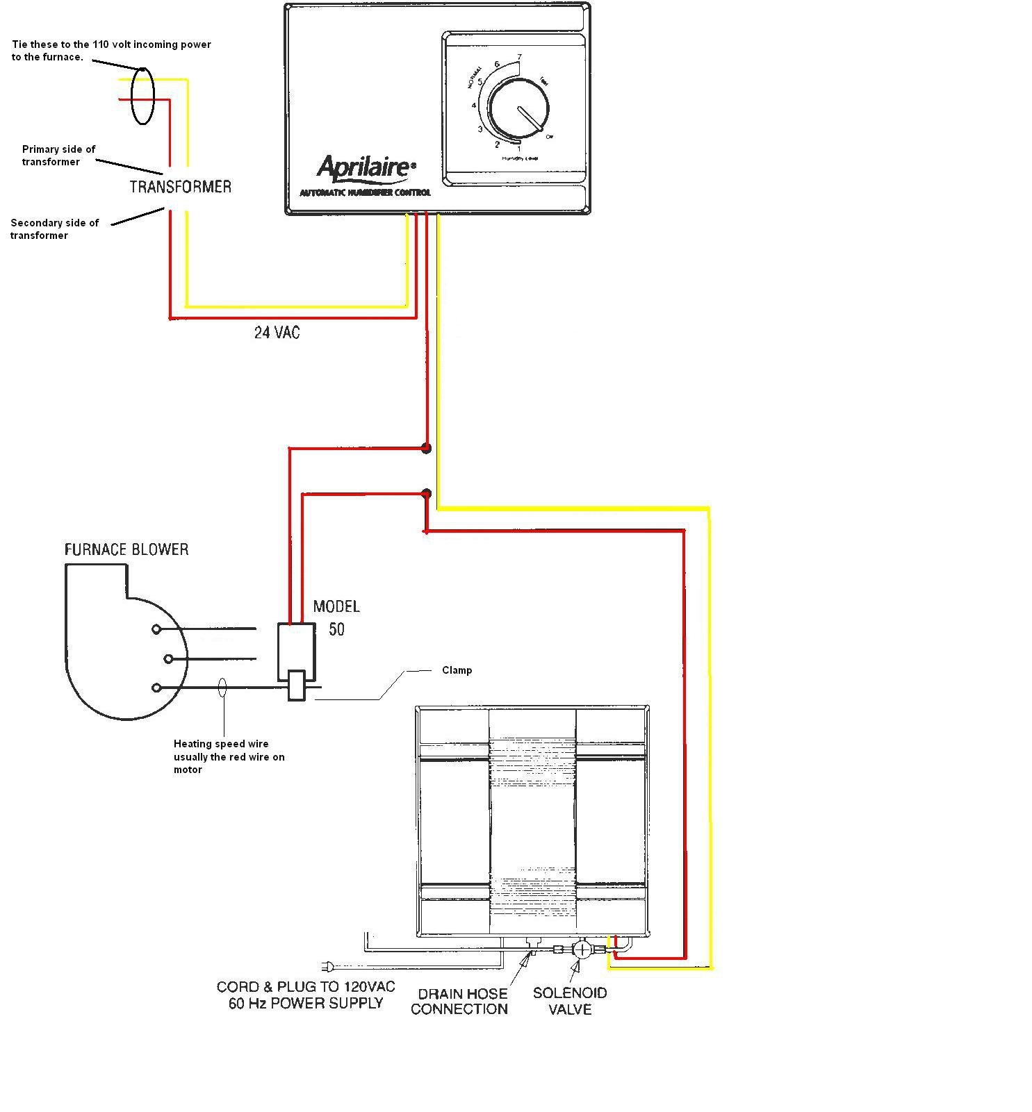 honeywell humidifier wiring diagram Collection-Wiring Diagram Detail Name honeywell power humidifier 15-s