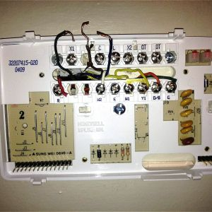 Honeywell Mercury thermostat Wiring Diagram - Honeywell Mercury thermostat Wiring Diagram Refrence Enchanting Old Honeywell thermostat Wiring Diagram Picture 15g