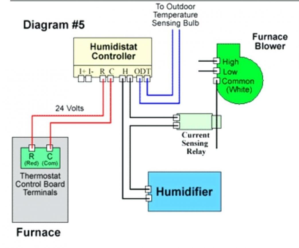 Honeywell Power Humidifier Wiring Diagram