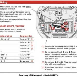 Honeywell Round thermostat Wiring Diagram - Honeywell thermostat Wiring Diagram 19h