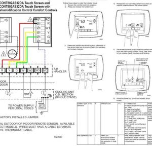 Honeywell Rth2300 Rth221 Wiring Diagram - Honeywell Rth2300 thermostat Wiring Diagram Free Wiring Rh Xwiaw Us 9h