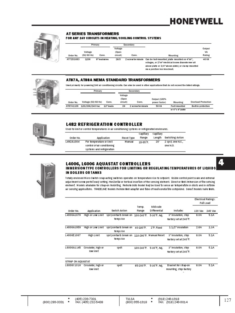 honeywell t651a3018 wiring diagram Download-Honeywell T651a3018 Wiring Diagram Beautiful Section4 2 thermostat 6-d