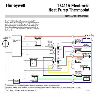Honeywell Th5220d1003 Wiring Diagram - Heat Pump thermostat Wiring Honeywell Surprising Diagram Electronic 1o
