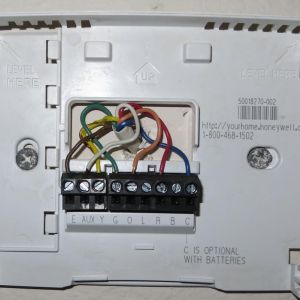 Honeywell Th5220d1003 Wiring Diagram - Honeywell Th5220d1003 Wiring Picture 14c
