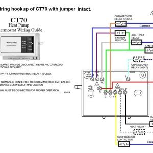 Honeywell thermostat Ct87n Wiring Diagram - Honeywell thermostat Wiring Diagram 2 Wire Lenito Throughout Relay Diagrams 3f