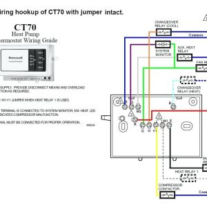 Honeywell thermostat Wiring Diagram 3 Wire - Honeywell thermostat Wiring Diagram 3 Wire 8 Wire thermostat Wiring Diagram to Honeywell Rth3100c In 10q