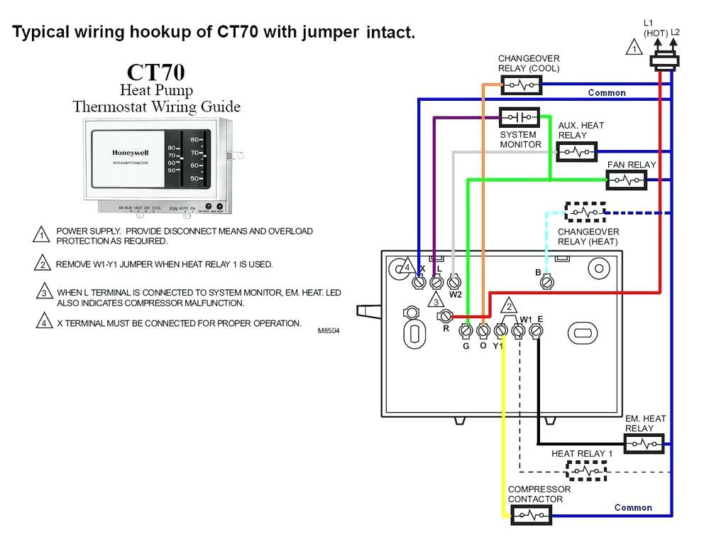 Honeywell Thermostat Wiring Diagram 3 Wire