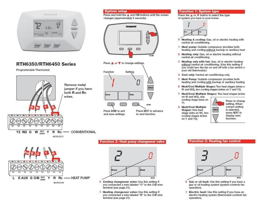 honeywell thermostat wiring schematic Collection-Wiring Diagram Get Image Honeywell Thermostat For Inside Diagrams In 19-i