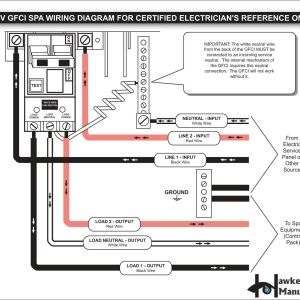 Hot Tub Gfci Wiring Diagram - Square D Hot Tub Gfci Breaker Wiring Diagram Collection Wiring Diagram Gfci Breaker Save Wiring Download Wiring Diagram 4l