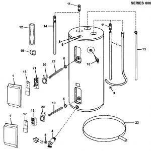 Hot Water Heater Wiring Diagram - Wiring Diagram Electric Water Heater New Electric Water Heater Parts Diagram 18h