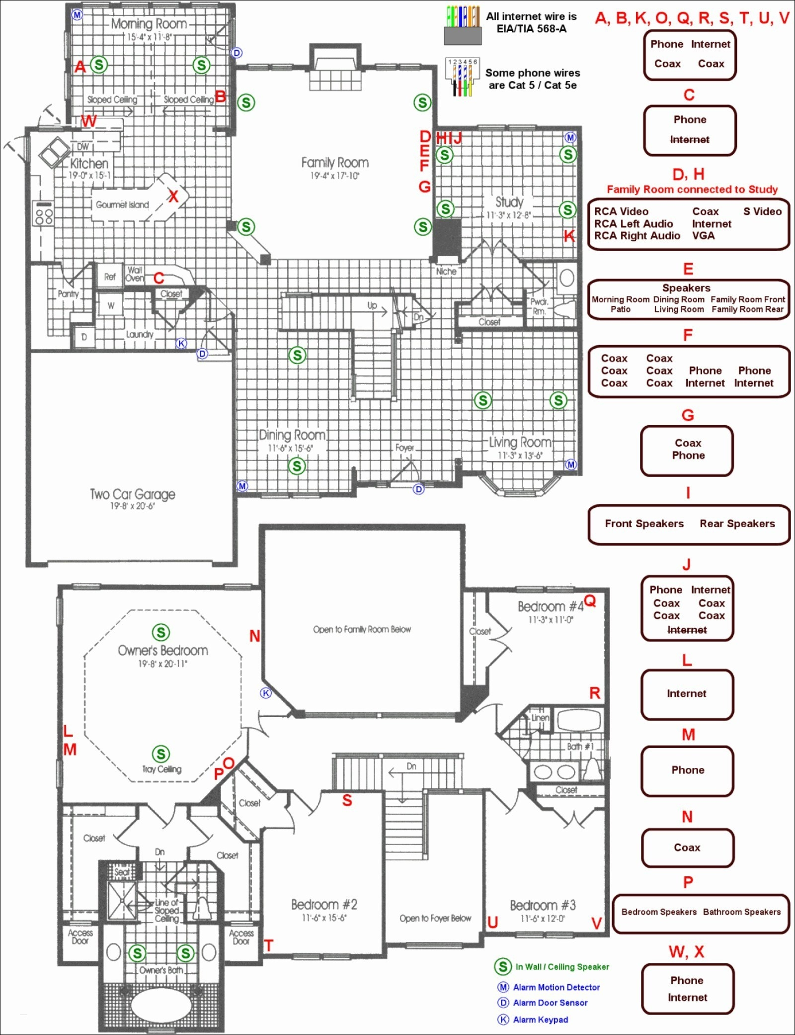House Wiring Diagram Examples