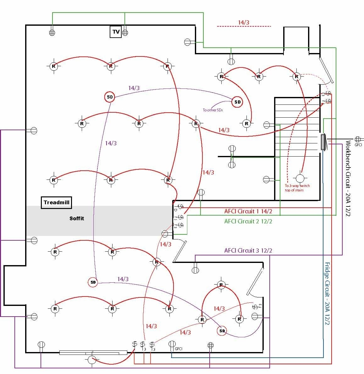 House Wiring Diagram Pdf