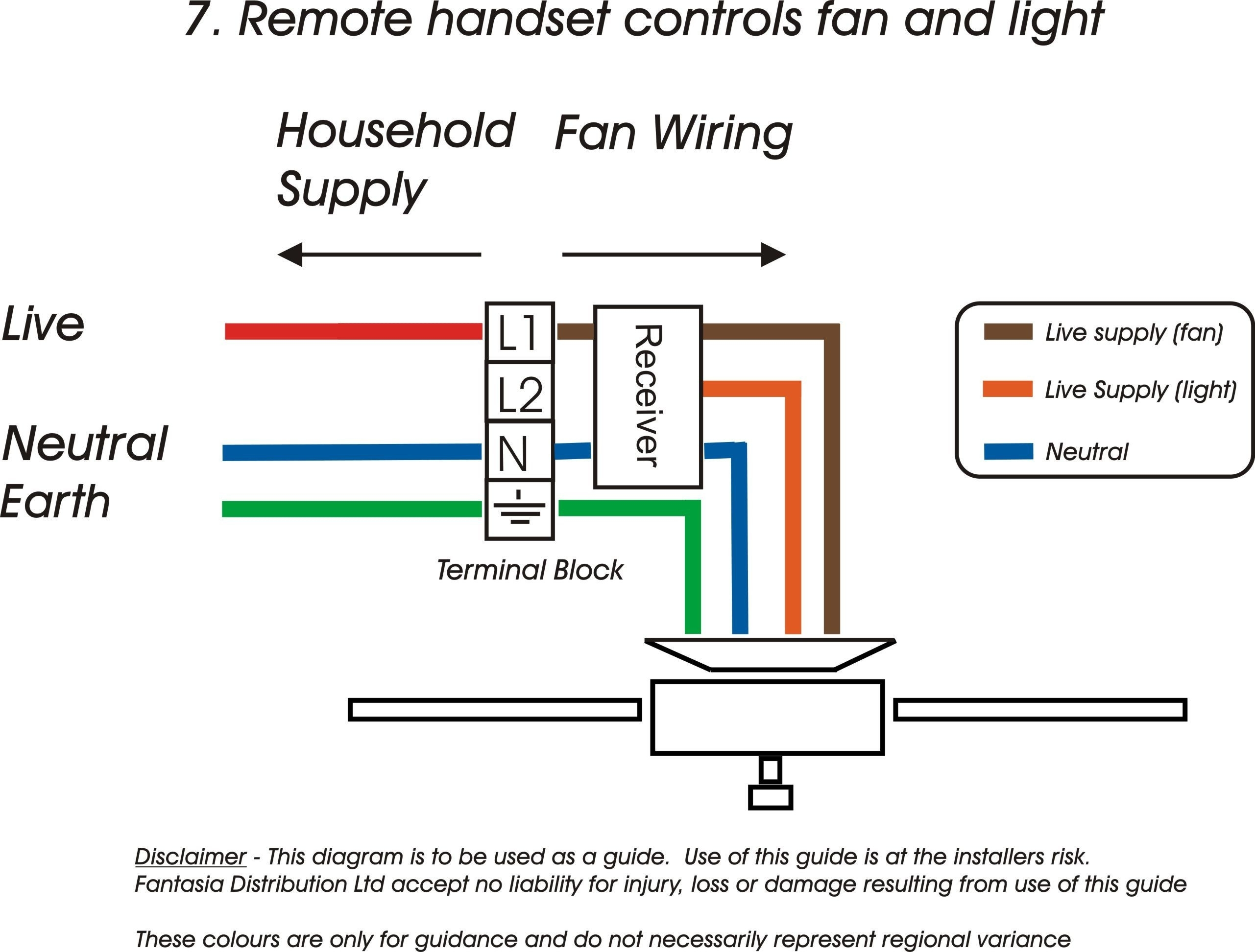 Hunter Ceiling Fan 3 Way Switch Wiring Diagram