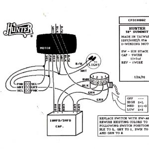 Hunter Ceiling Fan Wiring Schematic - Wiring Diagram for Ceiling Fan Switch New Hunter Ceiling Fan Speed Switch Wiring Diagram 18n