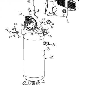 Husky Air Compressor Wiring Diagram - C601h Husky Air Pressor Parts1 16d
