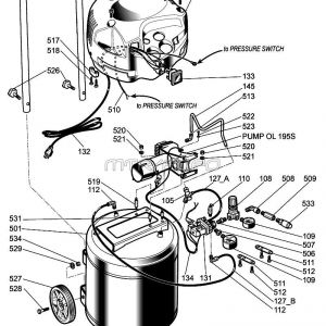 Husky Air Compressor Wiring Diagram - H1512fwk Parts 16j