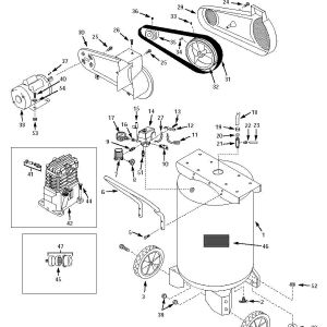 Husky Air Compressor Wiring Diagram - the Part Reference Numbers In This Schematic to Choose Your Parts or Scroll Down to Choose Your Parts From the Parts List 10f