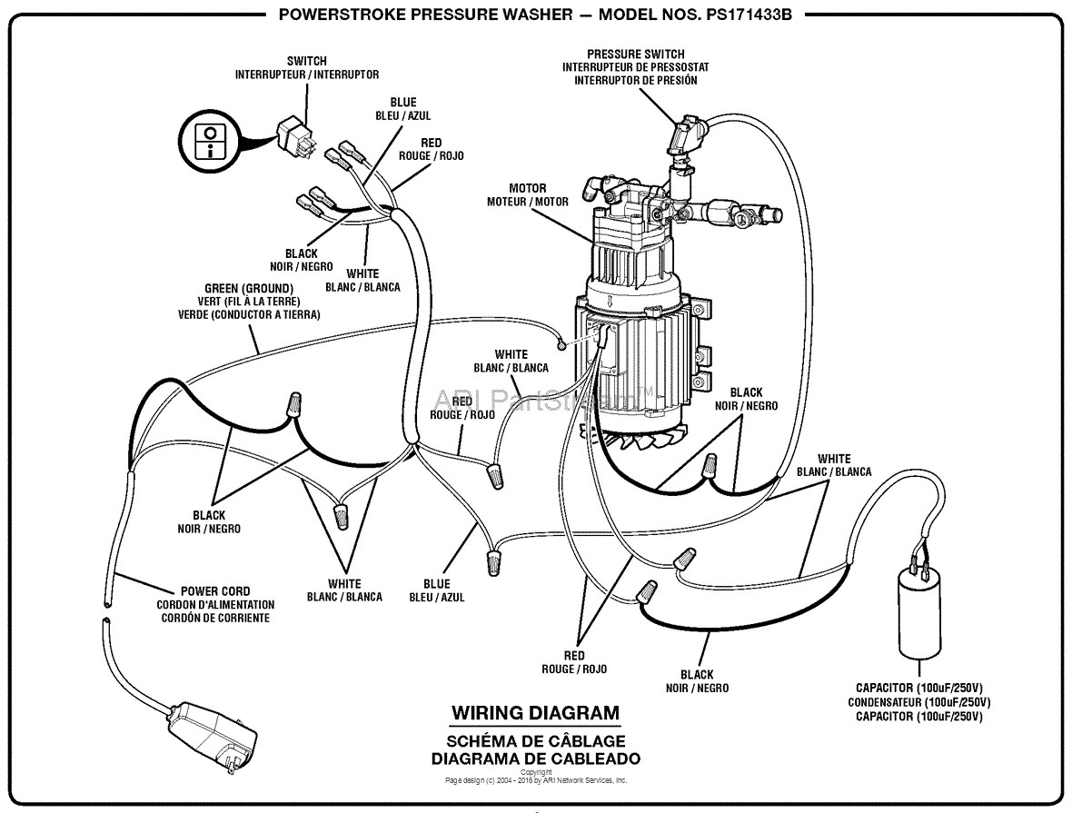 Hydrotek Pressure Washer Wiring Diagram