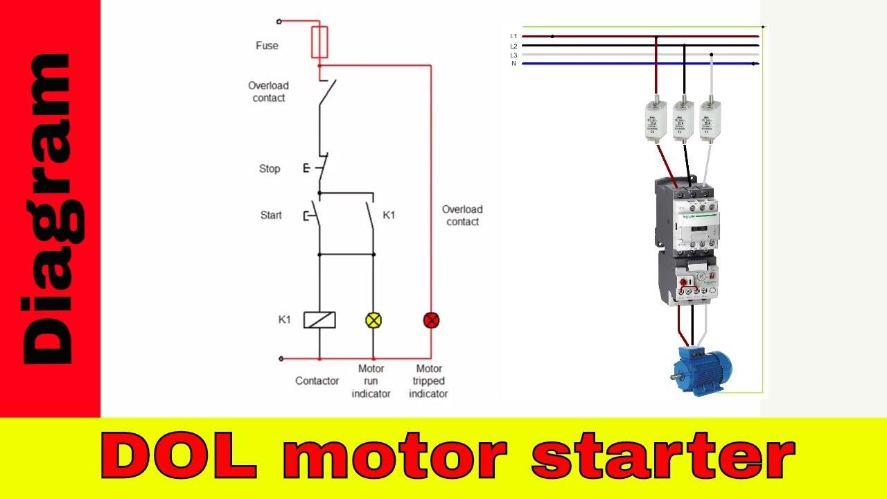 Iec Motor Starter Wiring Diagram