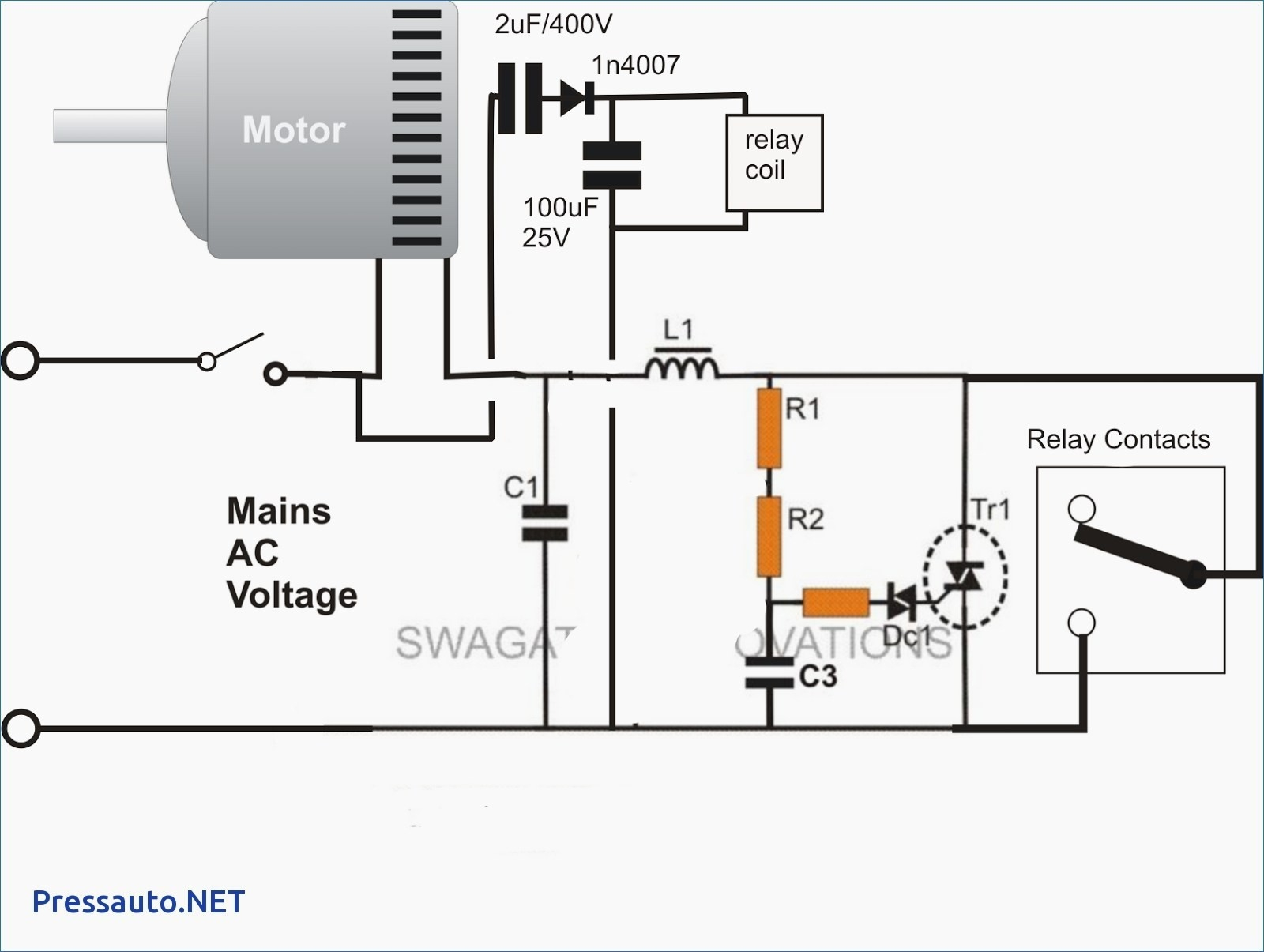 Iec Relay Wiring Diagram Online Connector Electrical Library Ac Pinout Motor Starter Free