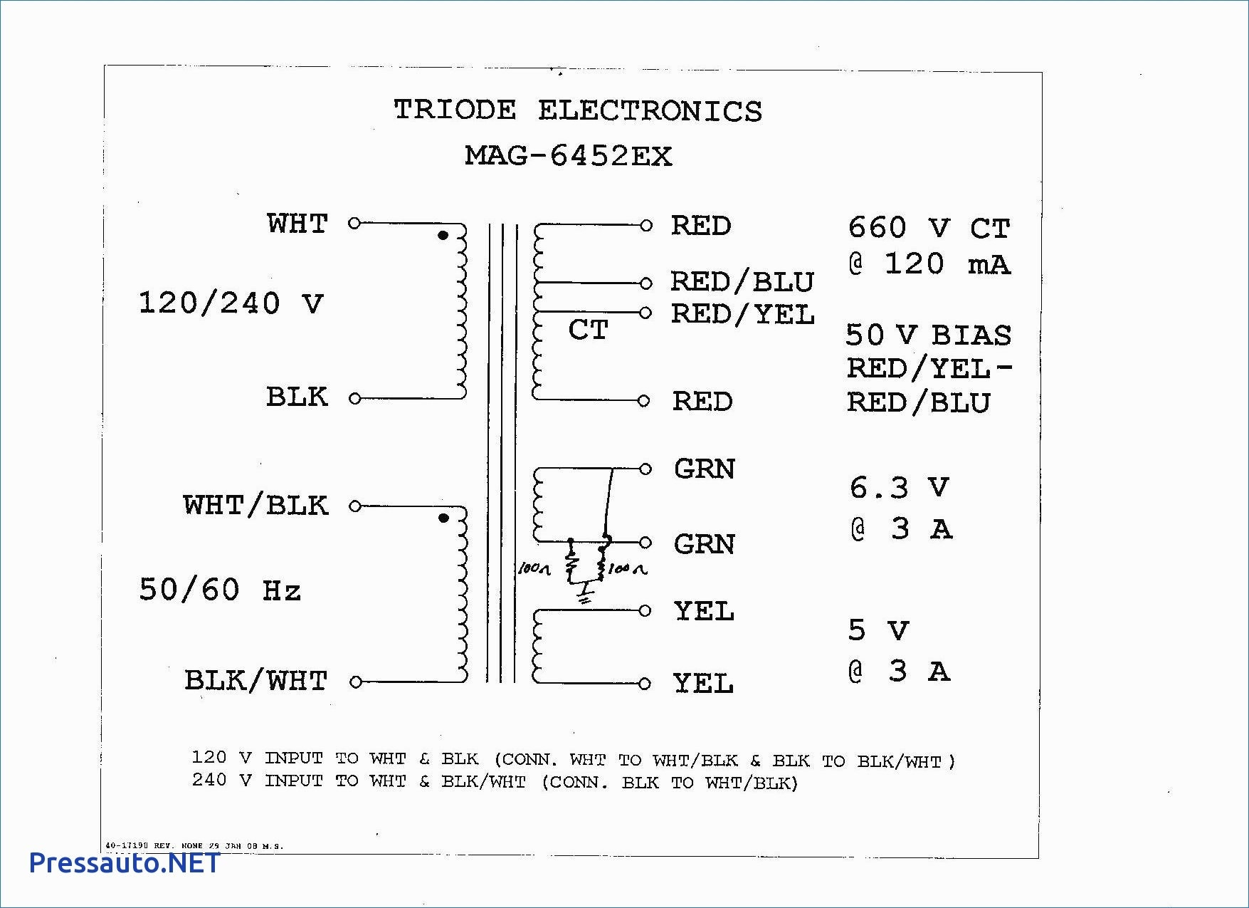 Industrial Control Transformer Wiring Diagram