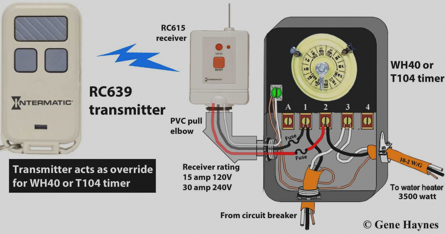 intermatic 240v timer wiring diagram free wiring diagram