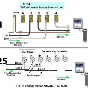 Intermatic T103 Wiring Diagram - How to Wire and Connect A Intermatic Pool Pump Timer In Wiring Diagram 3c