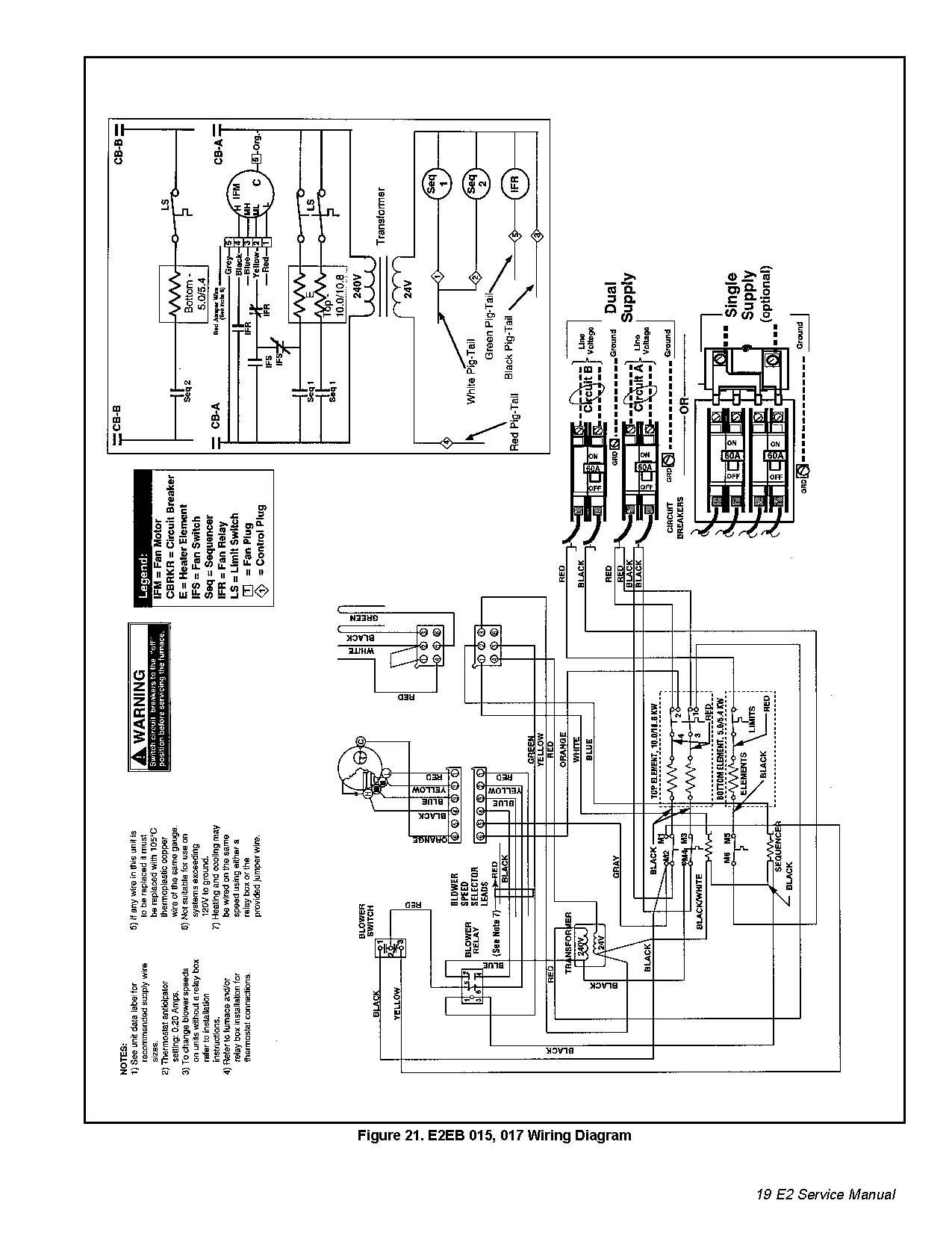 I Have An Intertherm Nordyne E2eb Wiring Diagram