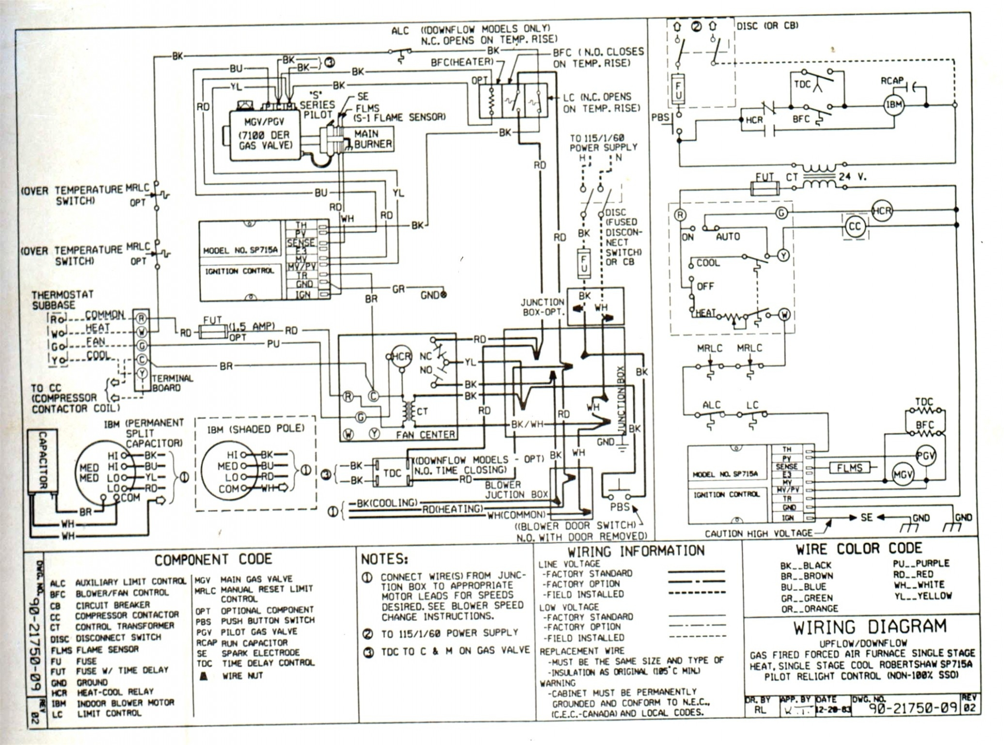 nordyne basic furnace wiring diagram intertherm e2eb 015ha wiring diagram | free wiring diagram #15
