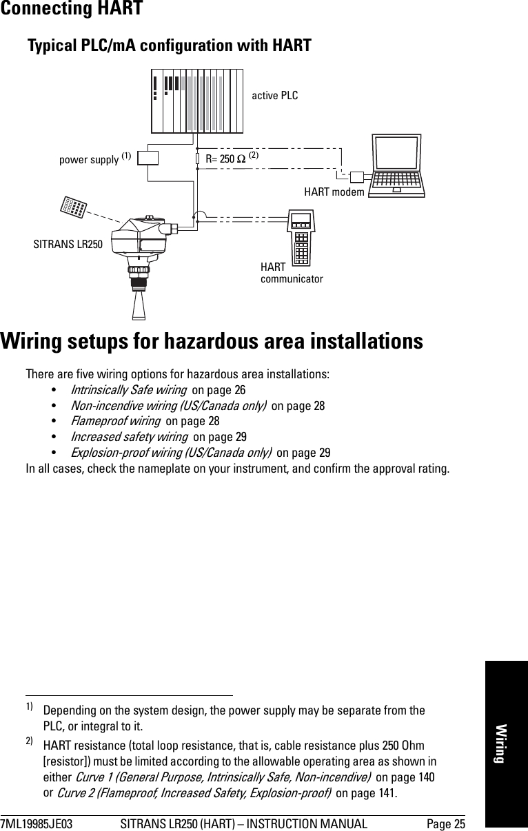 Intrinsically Safe Barrier Wiring Diagram
