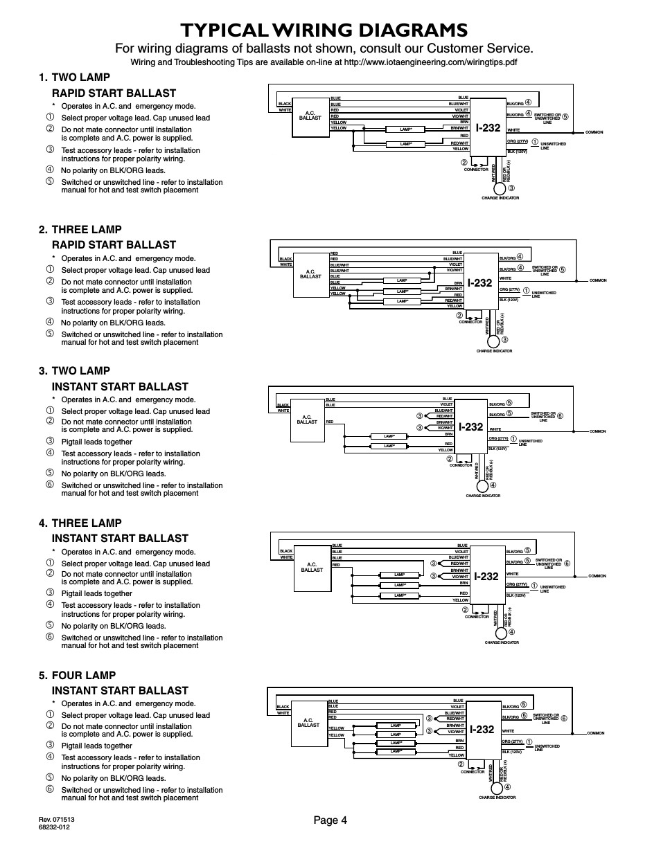 Iota Emergency Ballast Wiring Diagram Free Wiring Diagram