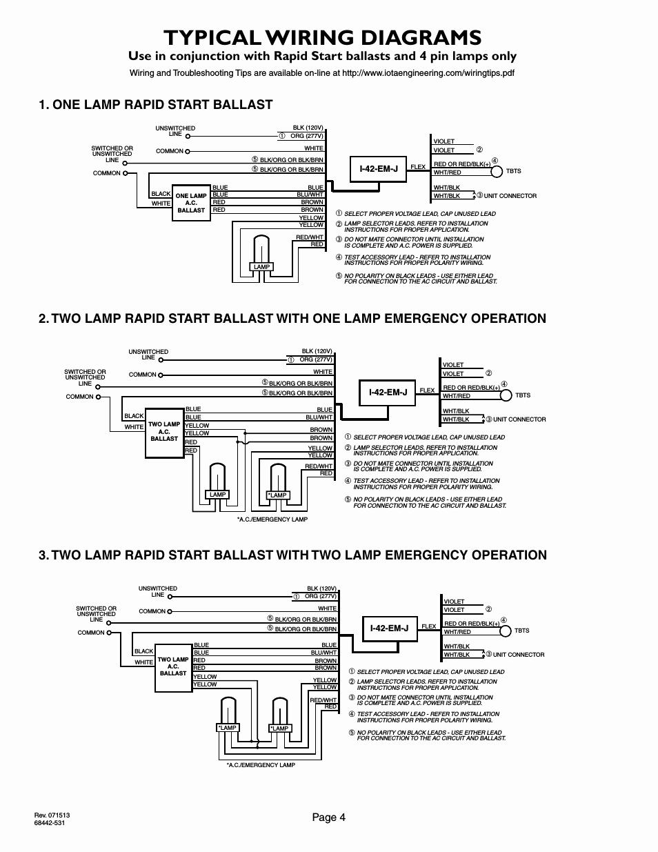 iota i320 emergency ballast wiring diagram Collection-Wiring Diagram Philips Advance Ballast Wiring Diagram Best Exelent Electronic Emergency Ballast Wiring Diagram Ponent 1-c