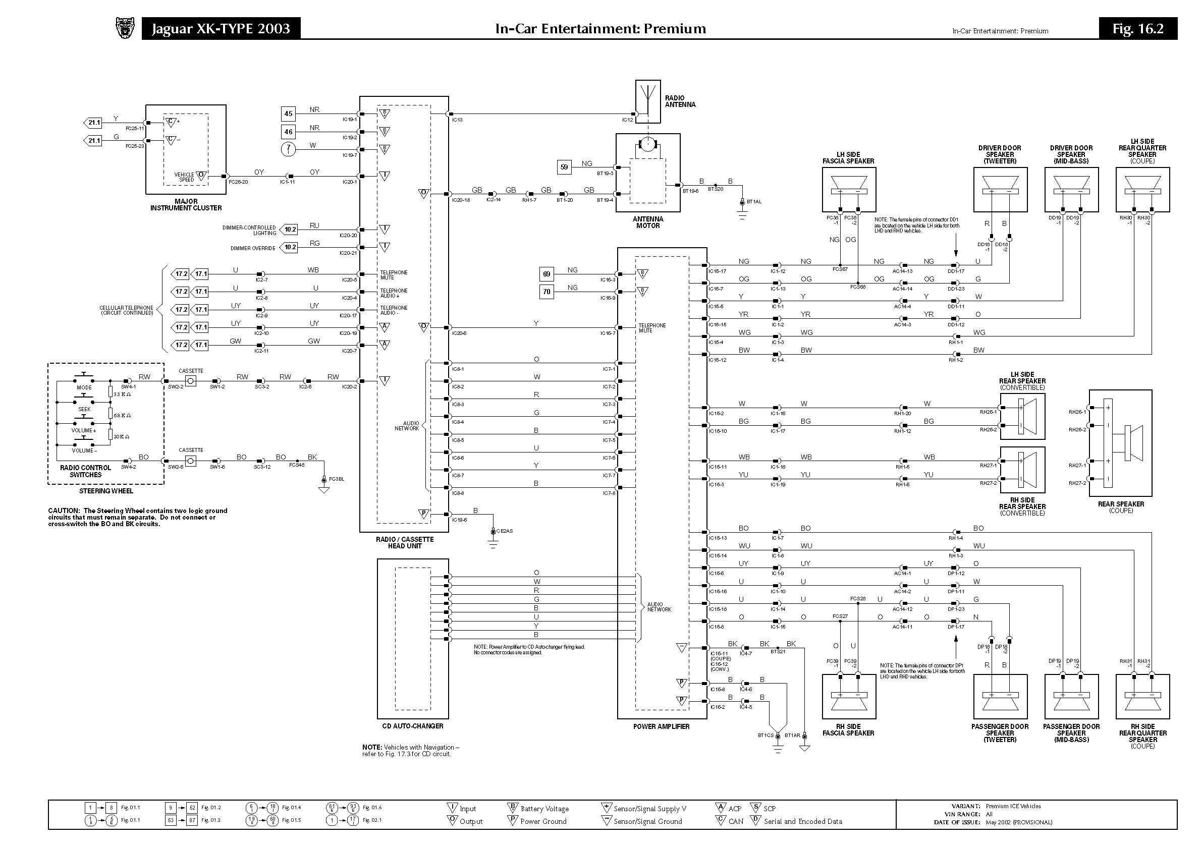 Stereo Wiring Diagram 2000 Xj8 Data Mitsubishi Harness Premium Jaguar X Type Mini Truck