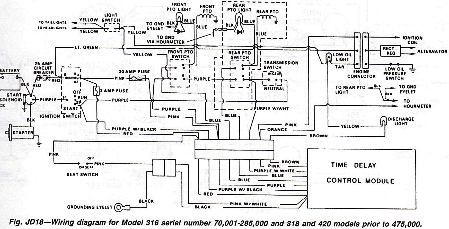 john deere 318 wiring diagram Download-John Deere 318 Wiring Diagram Download John Deere D140 Wiring Diagram 5 q 20-f