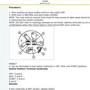 John Deere Gator Ignition Switch Wiring Diagram - John Deere Gator Wiring Diagram 3g