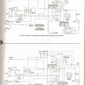 John Deere L130 Wiring Diagram - John Deere D105 Parts Diagram for John Deere L130 Wiring Diagram 12m