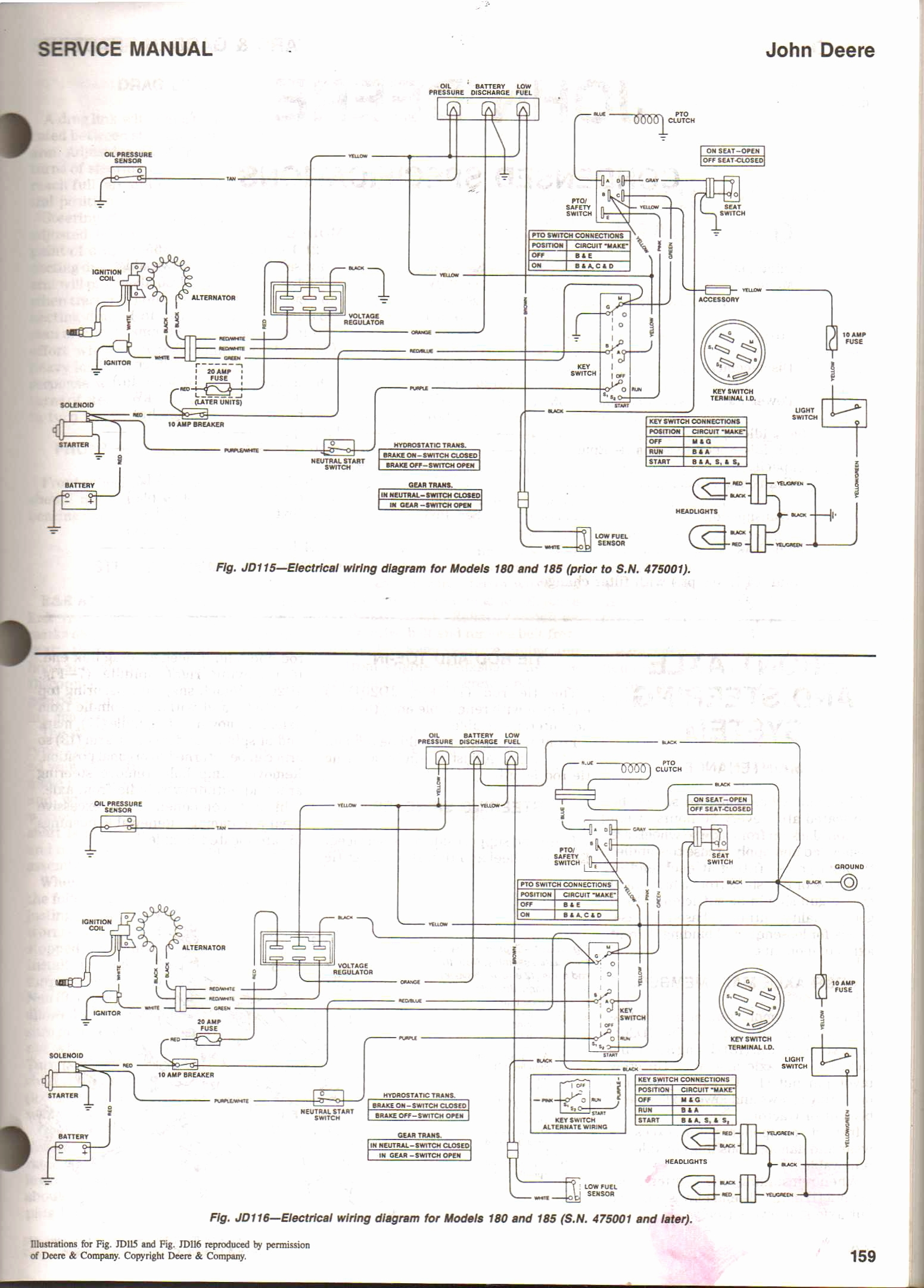 john deere l130 wiring diagram free wiring diagram John Deere Ignition Switch Diagram